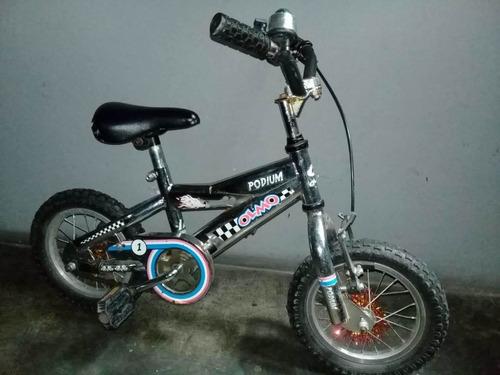 bicicleta rodado 12 olmo podium usada
