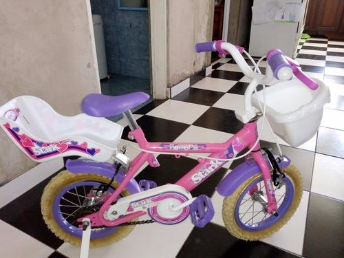 bicicleta rodado 12 stark flowers niña