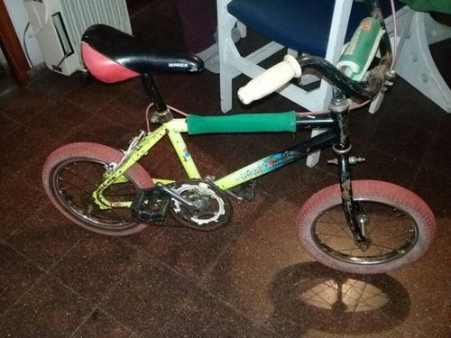 bicicleta rodado 14 niño