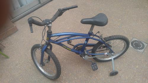 bicicleta rodado 16 con rueditas