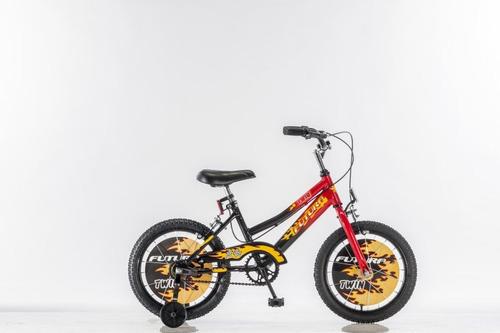 bicicleta rodado 16 futura 4050 jimmy bicolor