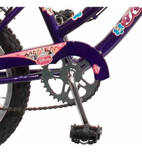 bicicleta rodado 16 nena niña acero playera envio gratis