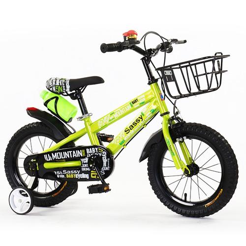 bicicleta rodado 16 - niño - niña con canasto - muebles web