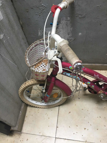 bicicleta rodado 16 olmo