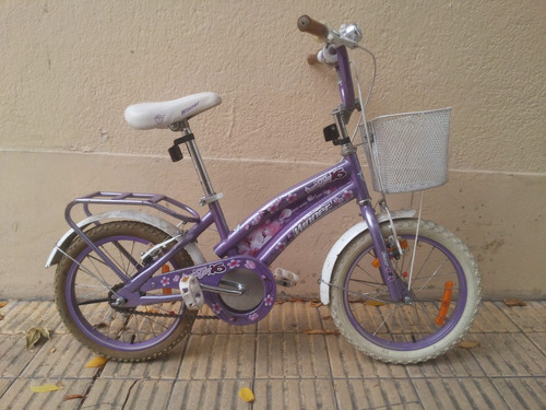 bicicleta rodado 16 winner twiggy para niña