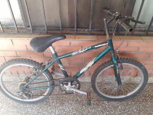 bicicleta rodado 20 - 3 cambios.