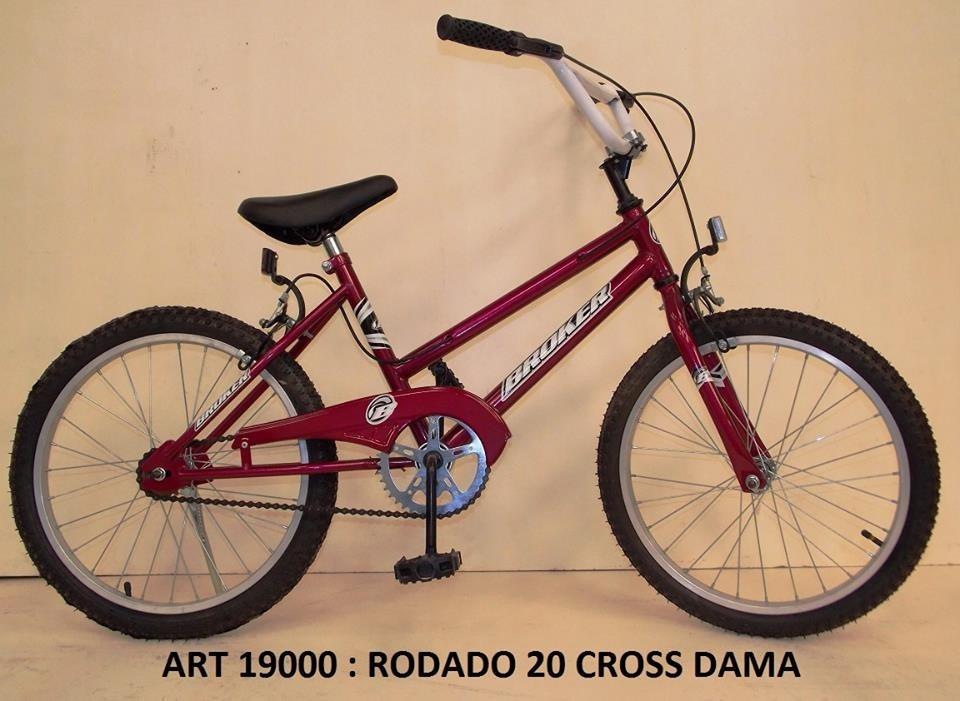f2592cc85 Bicicleta Rodado 20 Derchy Cross Hombre Mujer - $ 2.650,00 en ...