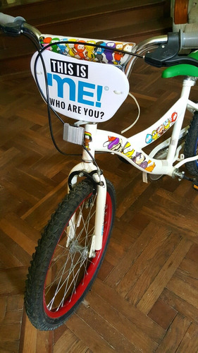 bicicleta rodado 20 nueva traída de uruguay