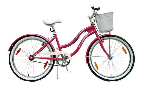 bicicleta rodado 24, nitro lady,rosas hermanos mercedes