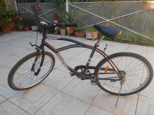bicicleta rodado 24 poco uso buen estado retira san justo