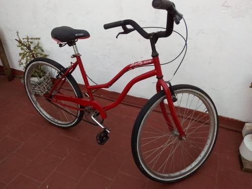 bicicleta rodado 26 playera