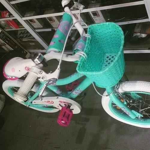 bicicleta rodado16 cool