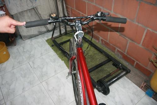 bicicleta roja rin 26