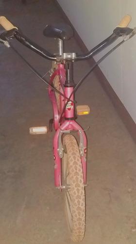 bicicleta rosada evolution
