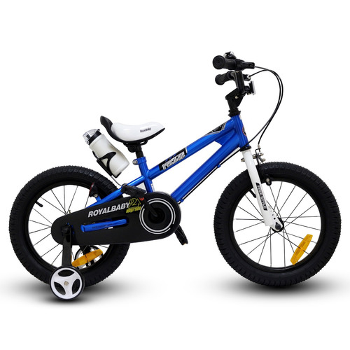 bicicleta royal baby fr niño aro 16 azul