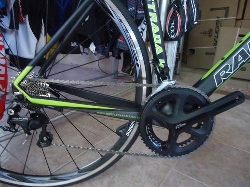 bicicleta ruta raleigh strada 4.0 full carbono envio gratis