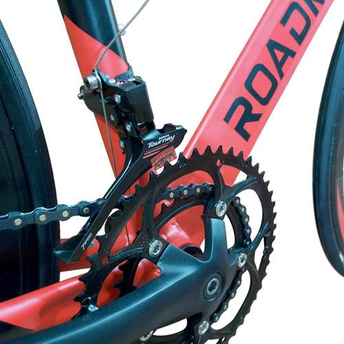bicicleta ruta roadmaster aluminio grupo shimano f.disco 14v