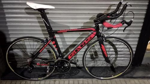 bicicleta ruta sars windstar triatlon shimano sora 18v