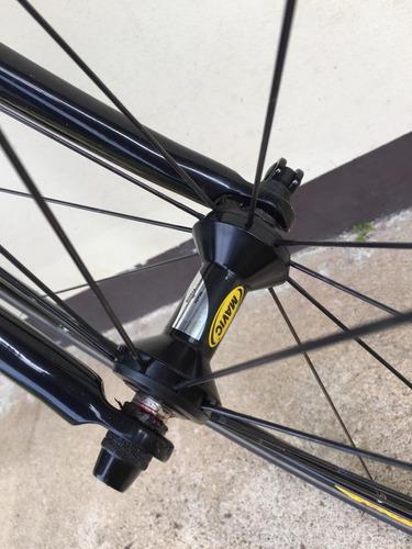 bicicleta ruta talla 52 mosso carbon rear triangle