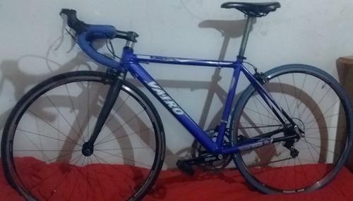 bicicleta ruta vairo x3 azul