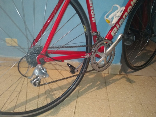 bicicleta rutera bianchi