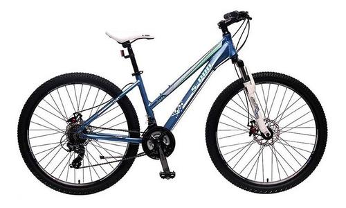 bicicleta s-pro aspen mujer cuadro aluminio freno disco ltc