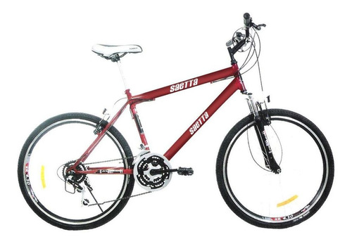 bicicleta saetta r26 mtb sude21v 81359