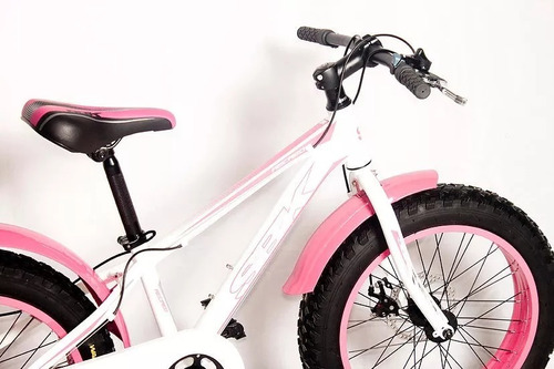 bicicleta sbk rod 20 niña ruedas anchas envios grati