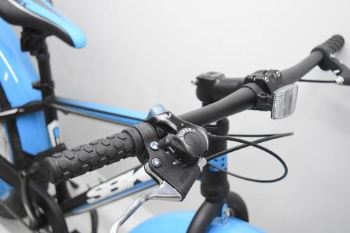 bicicleta sbk rodado 24 fat varon env grat cuotas sin inter