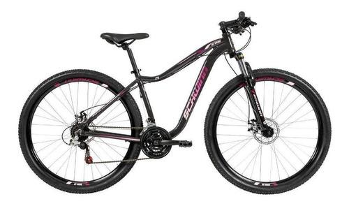 bicicleta schwinn nevada alumínio aro 29 21v cinza