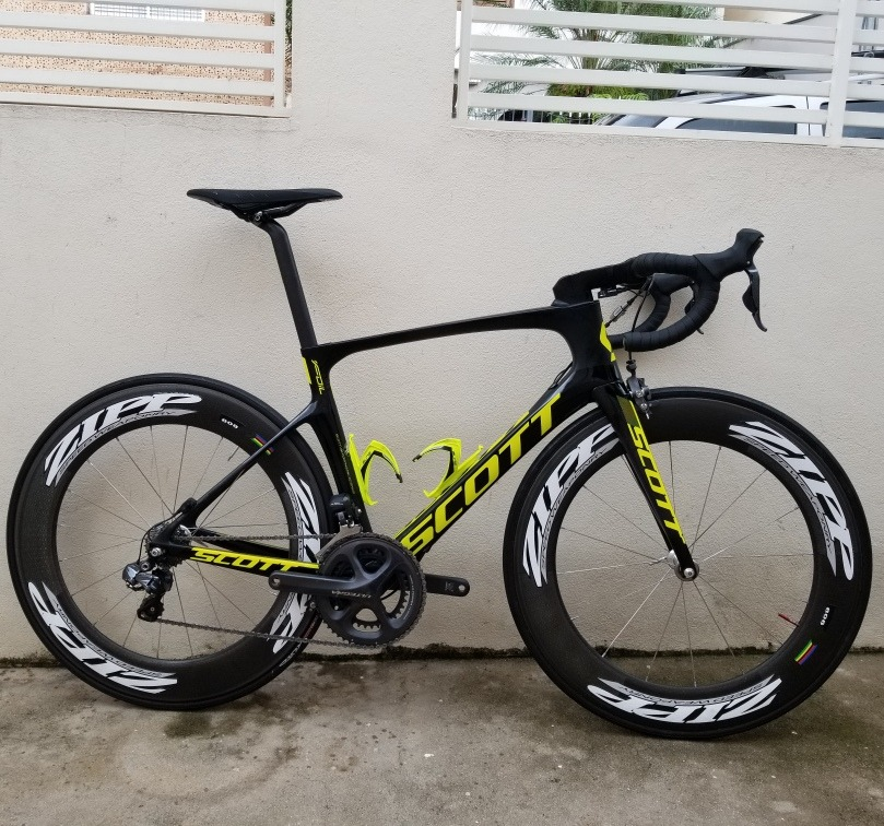 Bicicleta Scott Foil 10 2017 Carbono Speed 54 Ultegra Di2 22 R