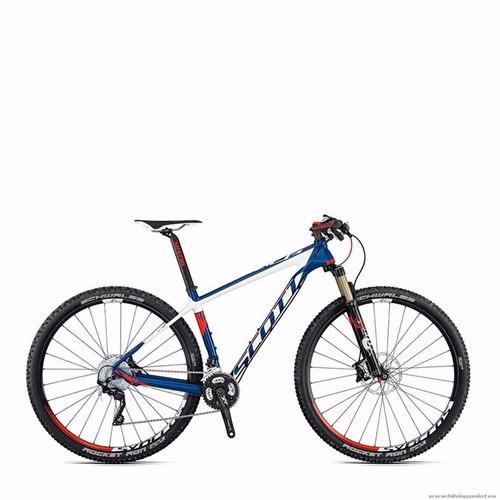 bicicleta scott scale 910 shimano xt m8000 2x11 semi-nova