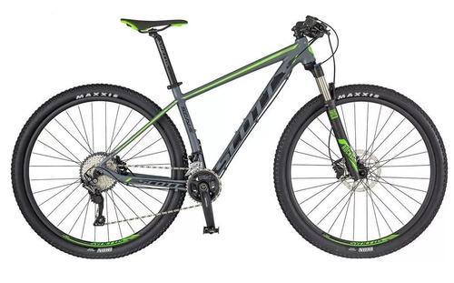 bicicleta scott scale 960 shimano slx 2x11 rockshox nfe 0km