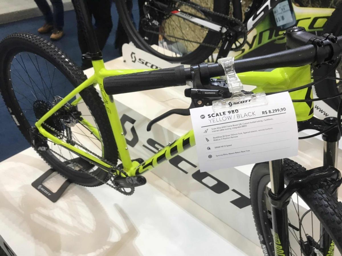 6f4e289859d Bicicleta Scott Scale 980 Sram Nx Eagle 12v 2019 - R$ 8.299,00 em ...