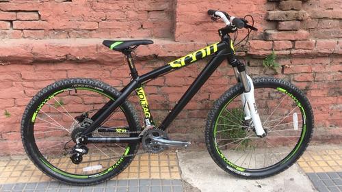 bicicleta scott voltage yz10 freeride dirt r 26 24v planet