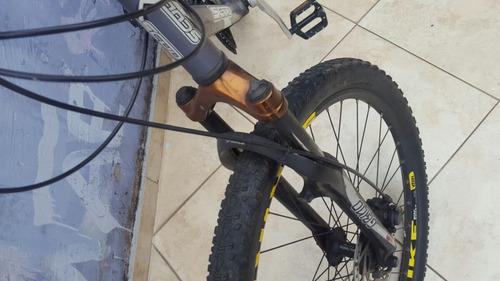 bicicleta scud toda shimano 21v importada montada