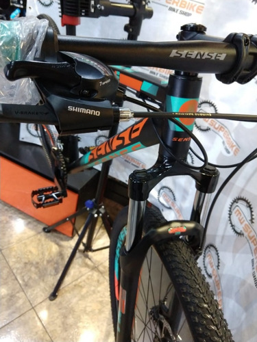 bicicleta  sense  one 2019 loja  sense + capacete