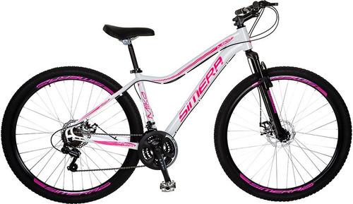 bicicleta simera mika aro 29 alumínio 21v câmbios shimano
