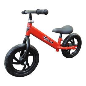 Bicicleta Sin Pedal Para Niños Chicos Buena Calidad Colores