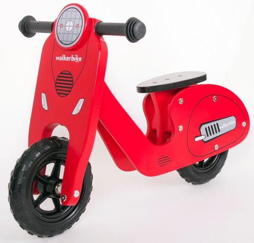 bicicleta sin pedales de madera de inicio walker bike vespa