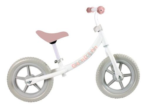 bicicleta sin pedales green bike rosada green dolphin