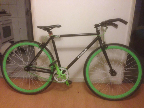 bicicleta single speed trinx high ten