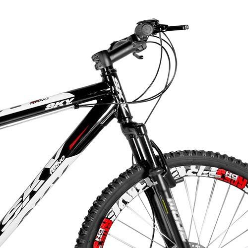 bicicleta skynano 24 marchas disco suspensão - frete grátis!