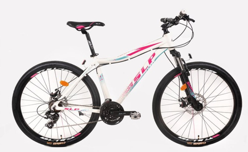 bicicleta slp 100 lady r29 shimano 21v disco susp +led+envio