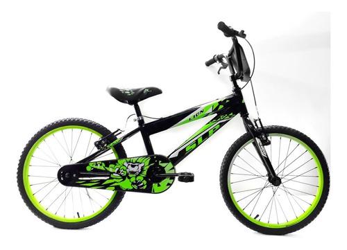 bicicleta slp lion bmx rodado 20 niño