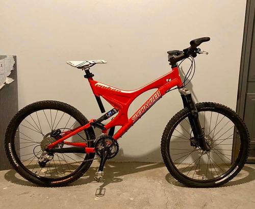 bicicleta specialized para downhill, modelo epic comp r29