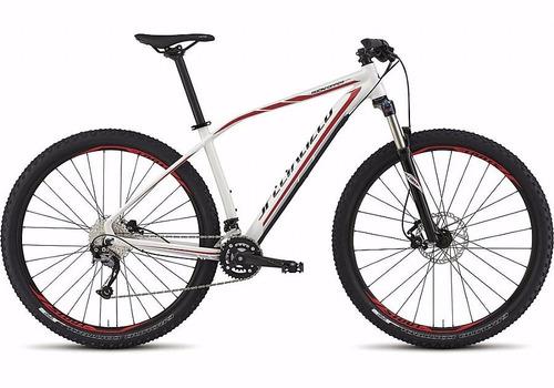 bicicleta specialized rockhopper comp 29 l branca baixou!!!