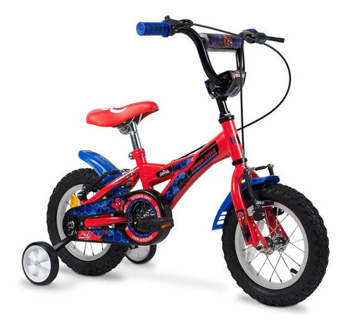 bicicleta spiderman r12 nene rayos 121302
