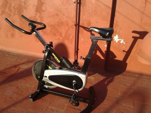 bicicleta spinning  dis. inercial18kg excelente!!!