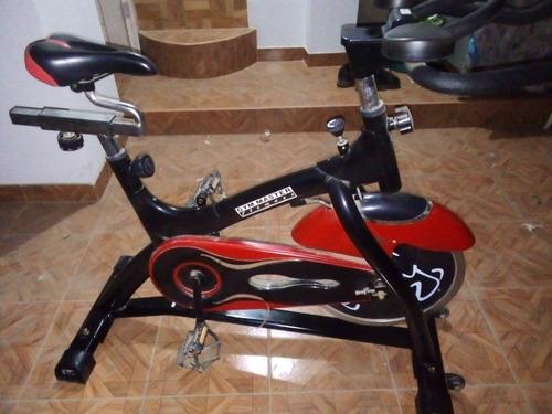 bicicleta spinning estacionaria  gym master fitness
